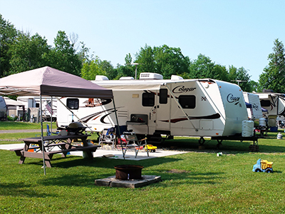 RV Sites From Ontario Shores RV Park