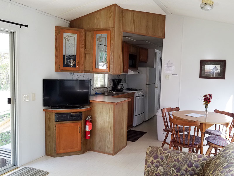 Photo Gallery Cabin Interior from Ontario Shores RV Park