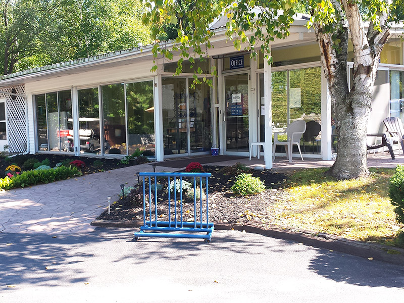 Photo Gallery Main Office from Ontario Shores RV Park
