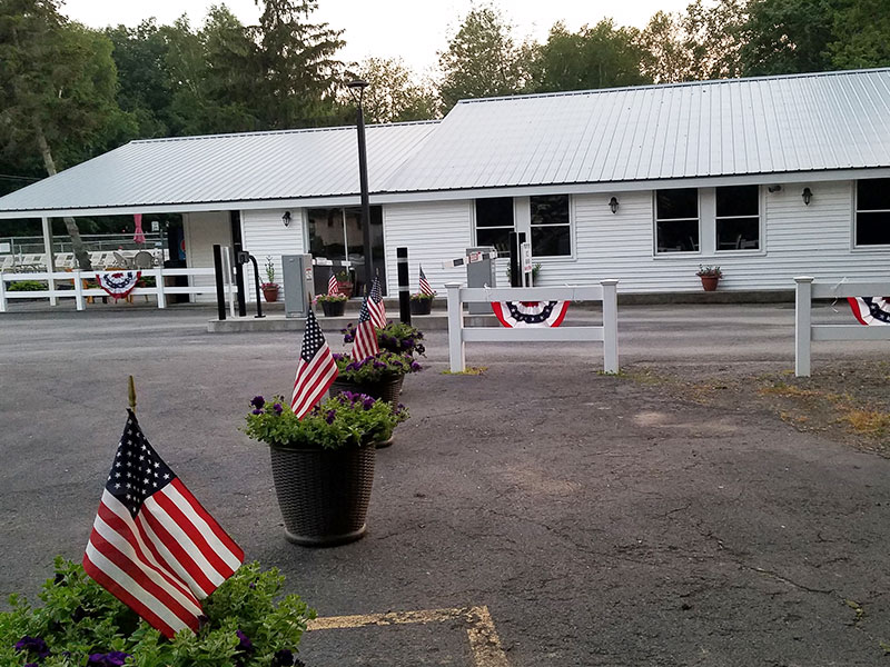 Photo Gallery Recreation Hall from Ontario Shores RV Park