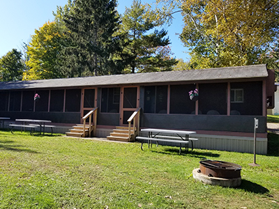 Cabin Rentals From Ontario Shores RV Park