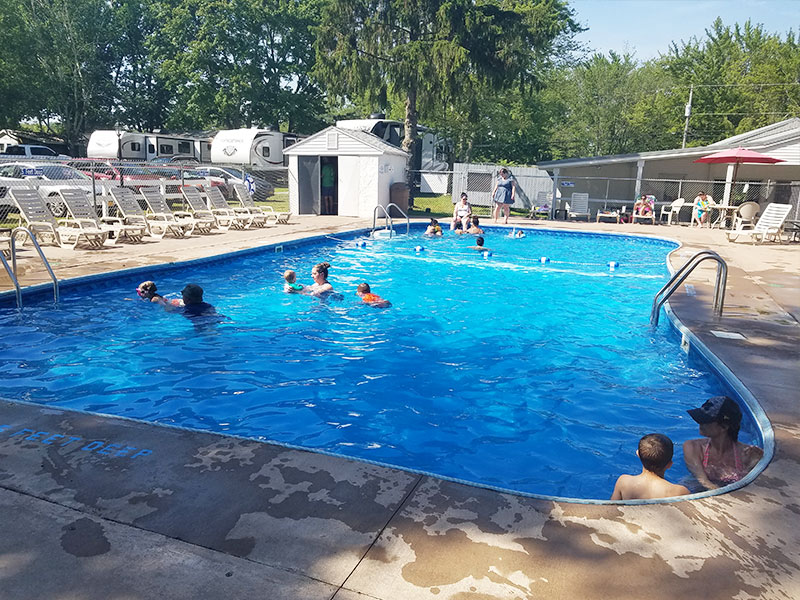 Photo Gallery Pool from Ontario Shores RV Park