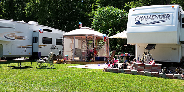pulaski ny campgrounds Image From Ontario Shores RV Park