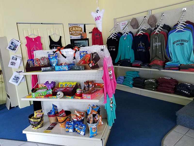 Photo Gallery Main Office Store from Ontario Shores RV Park