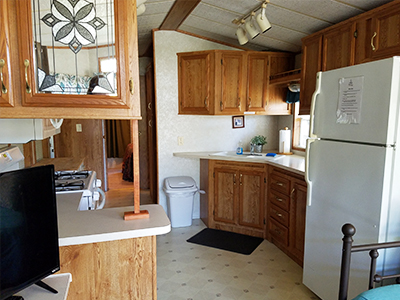 lake ontario Cottage Rentals Interior From Ontario Shores RV Park